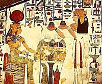 Historie Egypta - malířství
