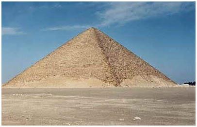 Egypt - Červená pyramida - Dáhšúr