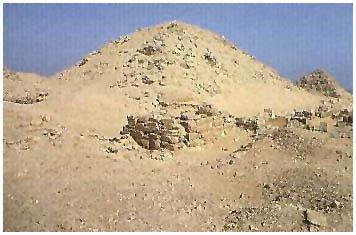 Egypt - Niuserreova pyramida - Abúsír