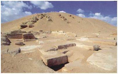 Egypt - Pyramida Amenemheta I. - Lišt