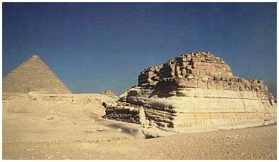 Egypt - Stupňovitá hrobka Chentkaus I. - Gíza