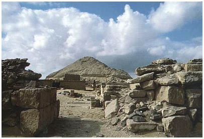 Egypt - Pyramida Pepiho II. - Sakkára