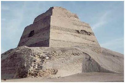Egypt - Pyramida v Médúmu