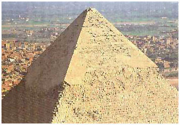 Egypt - Rachefova pyramida - Gíza