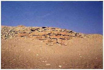 Egypt - Raneferefova (nedokončená) pyramida - Abúsír