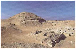 Egypt - Tetiho pyramida - Sakkára
