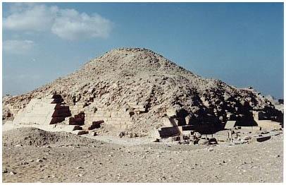 Egypt - Venisova pyramida - Sakkára