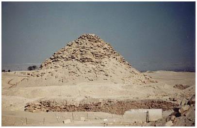 Egypt - Veserkafova pyramida - Sakkára
