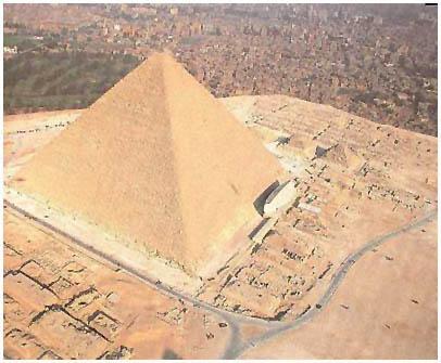 Egypt - Chufuova pyramida zvaná Velká - Gíza
