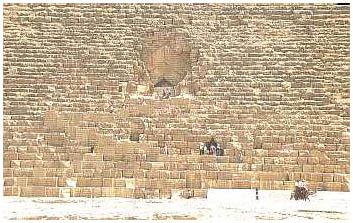 Egypt - Chufuova pyramida zvaná Velká - Gíza 4