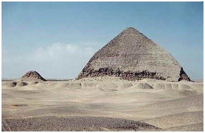 Egypt - Lomená pyramida - Dáhšúr - 2.obr