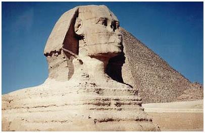 Egypt - Velká Sfinga - Gíza